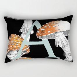 A is for Amanita muscaria Rectangular Pillow