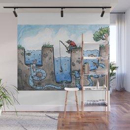 Smart Fish Wall Mural