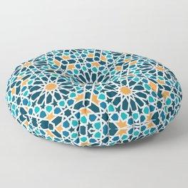 Tile of the Alhambra Floor Pillow