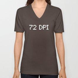 72 DPI Unisex V-Neck