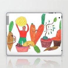 Vegetables Party. Laptop & iPad Skin