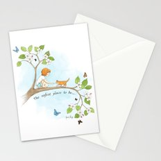 The safest place to be... Stationery Cards