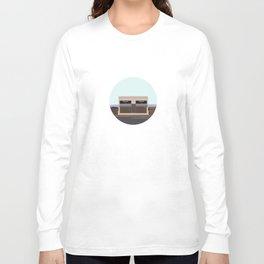 Marfa Installation: A digital illustration Long Sleeve T-shirt