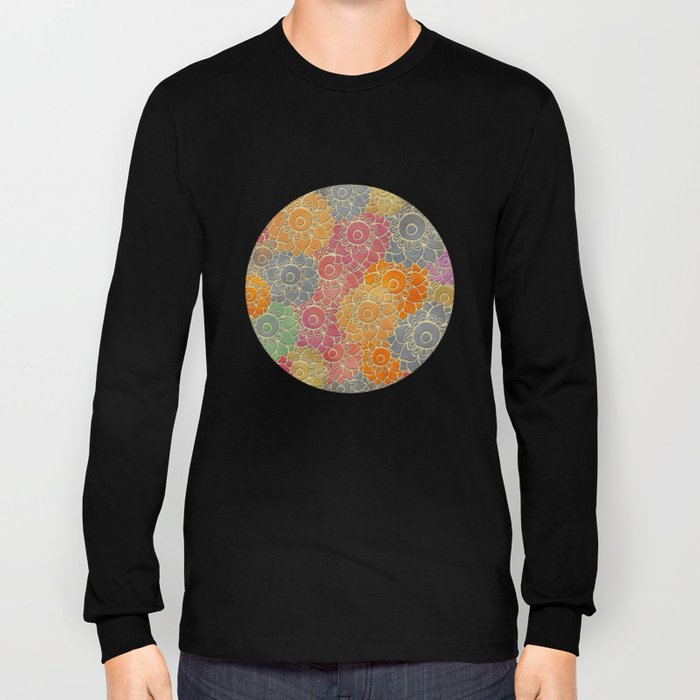 Flower Pattern 2 Long Sleeve T-shirt