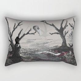 Lake of the dead Rectangular Pillow