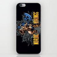 vikings iPhone & iPod Skins featuring Nordic Vikings by TsHirtZmaNia
