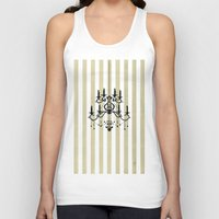 chandelier Tank Tops featuring Chandelier shade  by Huda Mulla