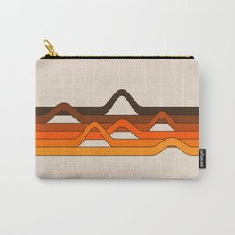 Golden Wavelength Carry-All Pouch