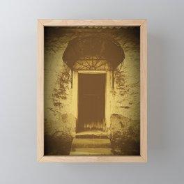 Front Door of Worker Home Framed Mini Art Print