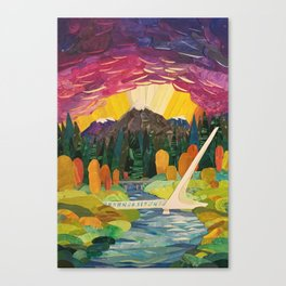 Redding Strong Canvas Print