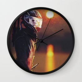 La Lune Rousse Wall Clock