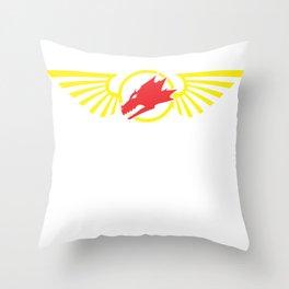 Salamander Space Marines Throw Pillow