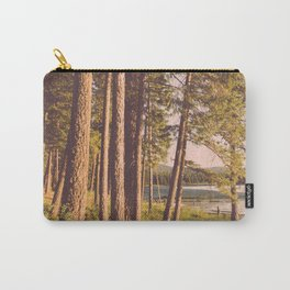 Retro Forest Carry-All Pouch