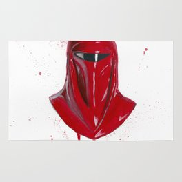 Red Imperial Guard Rug