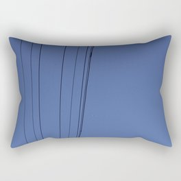 Lines & Bird Rectangular Pillow