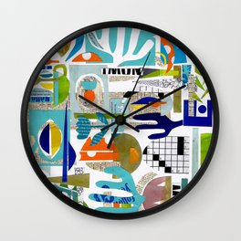 collage & go ... Wall Clock