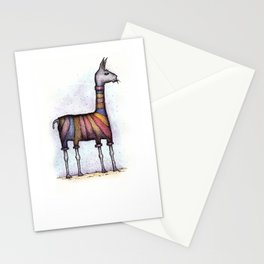 llamas get cold Stationery Cards