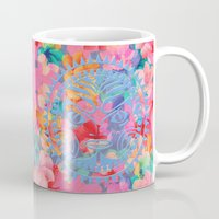 hawaii Mugs featuring Hawaii by Marta Olga Klara