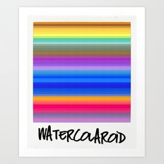 Watercolaroid Art Print