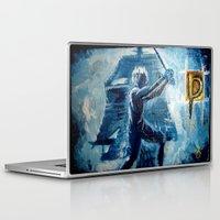 peter pan Laptop & iPad Skins featuring Peter Pan by ANoelleJay