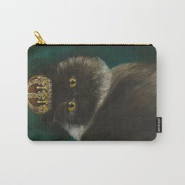 DONETE, A FANCY CHOCOLATE PERSIAN CAT Carry-All Pouch