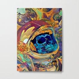 Space Graveyard Metal Print