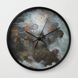 Twice Mooned Wall Clock