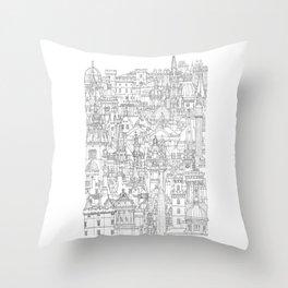 Edinburgh, Scotland Throw Pillow