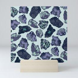 Rock collection 2 Mini Art Print