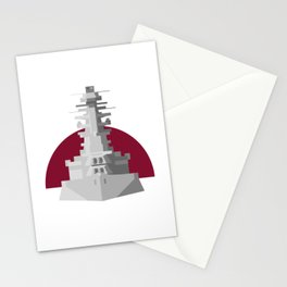 Battleship Nagato Stationery Cards