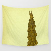 freedom Wall Tapestries featuring - freedom - by Magdalla Del Fresto