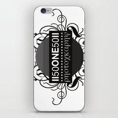 photo logo  iPhone & iPod Skin