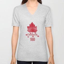Canada 150 Unisex V-Neck