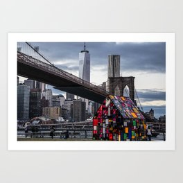 All About NYC Art Print