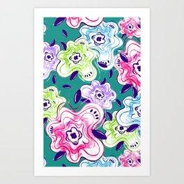 Flower Power 1 Art Print