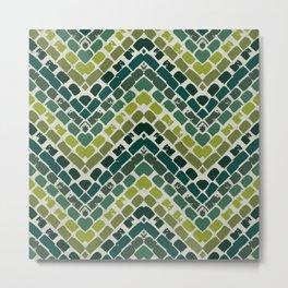 green maze Metal Print