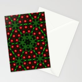Christmas Patterns Stationery Cards