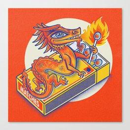 Matchbox Dragon Canvas Print