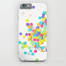 Confetti on White Slim Case iPhone 6s