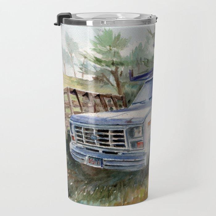 Truck in Bodega, CA Travel Mug