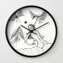 Out of the box Wall Clock