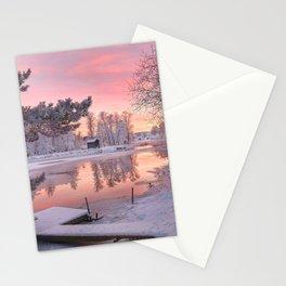 WINTER SCENE-3118/1 Stationery Cards