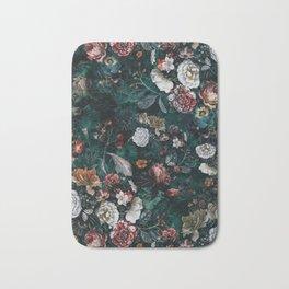 Moonlight Flowers Bath Mat
