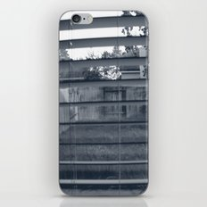 Black & White Background iPhone & iPod Skin
