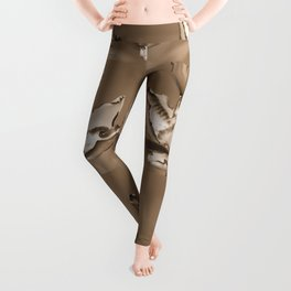 Double Asiatic Lily named Double Pleasure Leggings