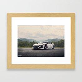2017 NSX Framed Art Print