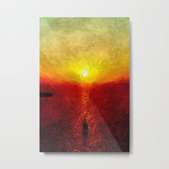 sungoesdown Metal Print