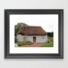Nant Wallter Cottage. Wales. Framed Art Print