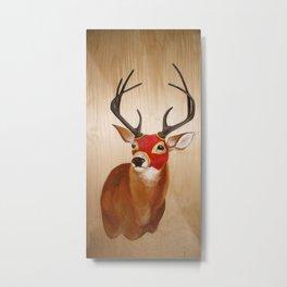 Lucha(deer) Metal Print
