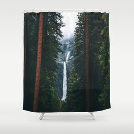 Yosemite Falls - Yosemite National Park, California Shower Curtain